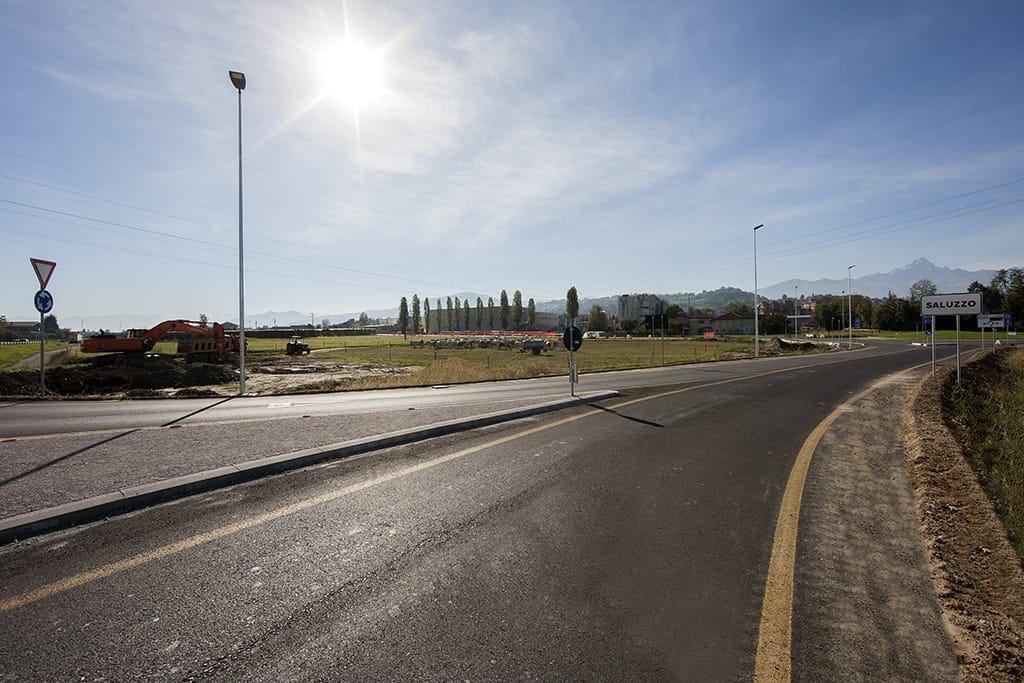 Strada ingresso Urbanizzazione-Saluzzo Ruscalla Renato Spa